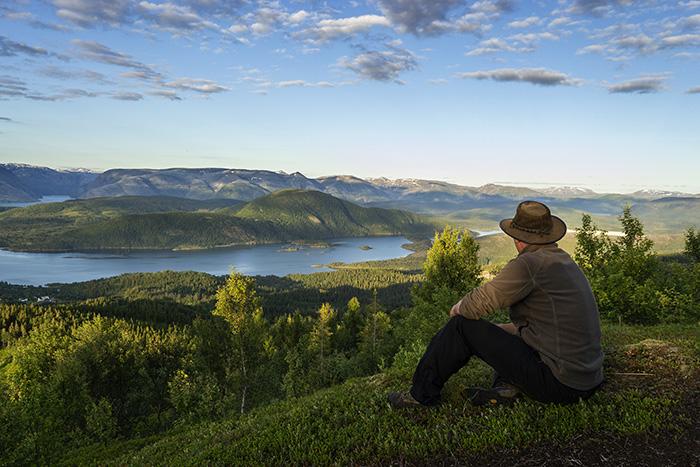Velfjord på Sør- Helgeland i Nordland
